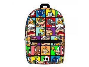 Backpack - Nintendo - Super Mario Villains Sublimated  New bq2xiksmb