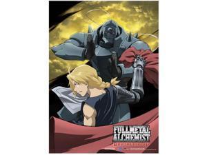 Fabric Poster - Fullmetal Alchemist Brotherhood - New Ed+Al Moon Poster ge77694