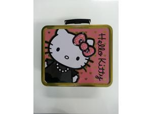 Lunch Box - Hello Kitty - Polka Dots+Pearls Metal Tin Case New Gifts sanlb0098