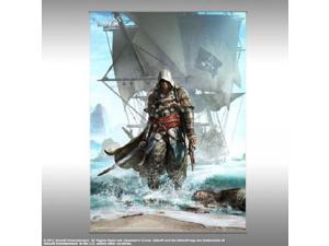 Wall Scroll - Assassin's Creed IV - Vol. 1 Edward Kenway Shore Art Licensed
