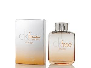 CK Free Energy by Calvin Klein 3.4 oz / 100 ml Eau De Toilette Spray for Men