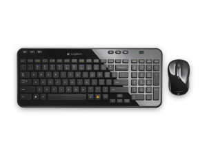 Logitech MK365 Keyboard and Wireless Mouse Combo Quartz Black