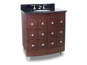 JEFFREY ALEXANDER VANITY WITH PREASSEMBLED TOP AND BOWL VAN038-T NEW - QTY 1