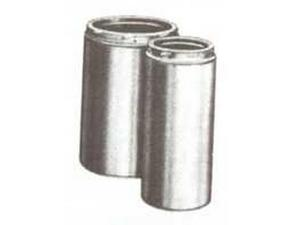 2 Pack SELKIRK INC SURE-TEMP 208009 9X8 INSULATED CHIMNEY PIPE, FIREPLACE PIPE