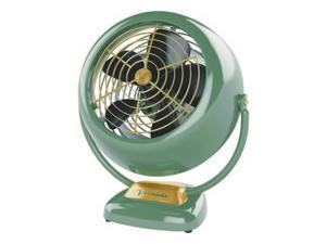 VORNADO Vintage 3 Speed Fan Antique Green for Whole Room Air Circulation