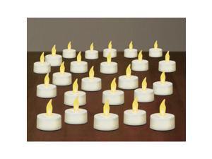 Inglow Tea Light Candles White 24 per Pack