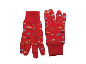 6/PACK MIDWEST QUALITY GLOVES CR102K CARS JERSEY GLOVES KIDS