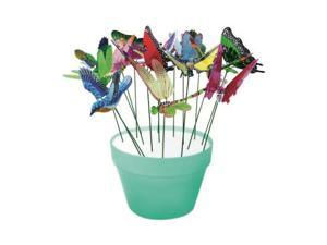 24/PACK EXHART 5035 WINDYWING ASSORTED GARDEN STAKES