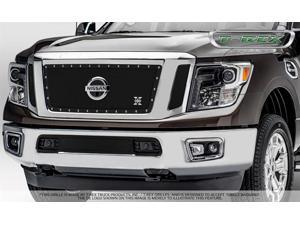 T-Rex Grilles 6717851 X-Metal Series Studded Mesh Grille Fits 16 Titan XD