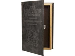 Antique Book Safe with Key Lock