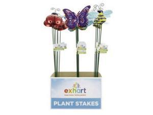 24/PACK EXHART 50746 WINDY WINGS SMALL METAL GARDEN STAKE ASSORTMENT
