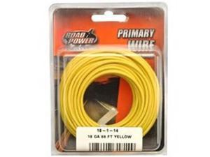 6/PACK COLEMAN CABLE 18-1-14 18GA PRIM WIRE YELW 33' CD