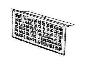 "16"" X 8"" Foundation Ventilator/Damper, 1 Vent LL Building Products LW1"