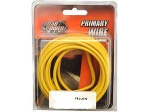 6/PACK COLEMAN CABLE 10-1-14 10GA PRIM WIRE YELLOW 7'CD