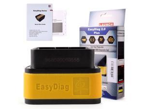 Original Launch X431 EasyDiag 2.0 Plus For Android & IOS with 2 free Car Softwares powerful OBD2 diagnostic scan tool  full access to Engine, Transmission, ABS, SRS systems and more Easy diag 2.0 plus