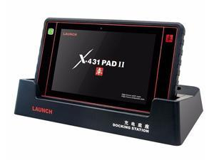 New Launch X431 PAD II 100% Original WiFi&Bluetooth Universal Diagnostic Scanner Free Online Update X431 PAD 2
