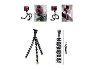 Octopus Style Mini Flexible Tripod with Phone Stand Holder (55-83mm) for iPhone Samsung Camera Video