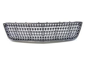 06-10 Chrome Luxury Honeycomb Mesh Front Lower Bumper Grill Grille Chevy Impala 2006 2007 2008 2009 2010