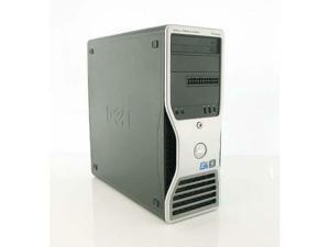 Dell Precision T5500 Workstation 1x Quad Core Intel Xeon X5570 2.93GHz 24GB DDR3 NEW Western Digital 1TB HDD Nvidia Quadro FX580 DVD-RW Windows 7 Professional