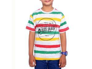 Snazzy Ecru Color Kids T-Shirt