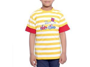 Stylish Yellow Color Kids T-Shirt
