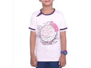 Fashionable Powder Pink Color T-Shirt