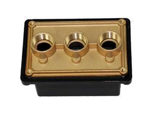 """Pentair 78310700 1"""" Black Junction Box Port Replacement Spa Light System"""