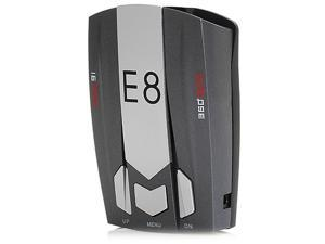 E8 360 Degree Laser Radar Detector Support English and Russian Full Band Scanning
