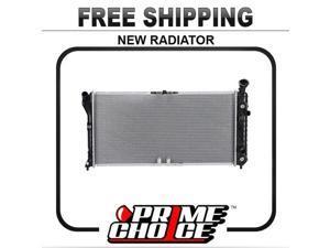 Prime Choice Auto Parts RK725 Aluminum Radiator