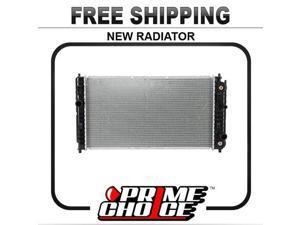 Prime Choice Auto Parts RK832 Aluminum Radiator