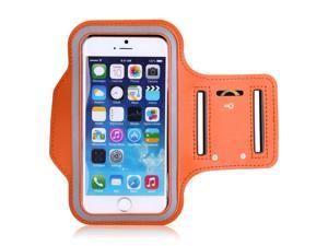 "ENERIC VANTRUE 4.7"" Sports Armband Case for iPhone 6 with Holder Slot & Earphone Connection - Orange"
