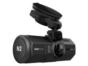 "Vantrue N2 Dual Dash Cam – 1080P FHD +HDR Front and Back Wide Angle Dual Lens In Car 1.5"" LCD Dashboard Camera DVR Video Recorder with G-Sensor, Parking Mode & Super Night Vision"