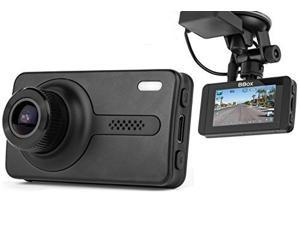 "Black Box X1S GPS Dash Camera - Full HD 1080P H.264 2.7"" LCD - 170° Wide Angle 6G Glass Lens 1.7 Aperture, WDR Night Vision, SOS, G-Sensor, Motion Detection Car DVR Video Recorder with 16GB SD Card"