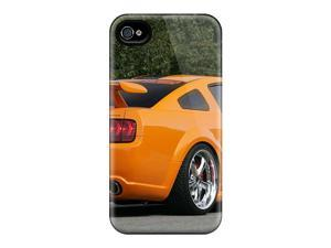 Rugged Skin Cases Covers For Iphone 6- Eco-friendly Packaging(geiger Ford Mustang Gt 520 Rear And Side)