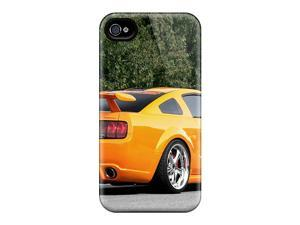 Rugged Skin Cases Covers For Iphone 6- Eco-friendly Packaging(geiger Mustang Gt 520 '2007)