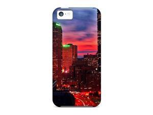 High Quality Shock Absorbing Cases For Iphone 5c-city Glow