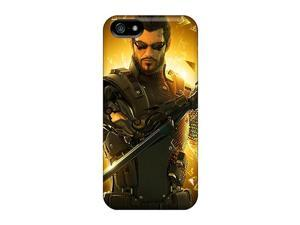 Durable Protector Cases Covers With Deus Ex Third Hot Design For Iphone 5/5s