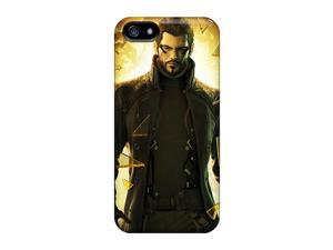 Sanp On Cases Covers Protector For Iphone 5/5s (deus Ex Human Revolution Game)