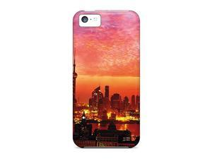 New Fiery Sunset Over Shanghai  Cases Compatible With Iphone 5c