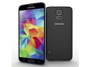 Refurbished: Samsung Galaxy S5 G900W8 Unlocked Smartphone, Black