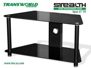 "Stealth entertainment Corner TV stand fits TV's upto 37"", samsung Sony and all flatscreen"