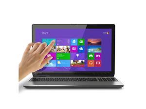 "Toshiba Satellite E55T-A5320 Ultrabook 15.6"" Touch Screen Laptop - 4th Gen Intel Core i5, 4GB DDR3, 500GB HD Back-Kit Keyboard Intel Wireless Display, Windows 8.1 64-Bit"