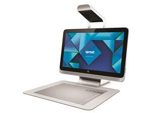 HP Sprout with HP Illuminator 23 Inch FHD touch screen i7-4790S Processor NVIDIA GeForce GT 745A  8 GB Memory 1TB Hybrid Drive HP Illuminator with 4-camera system Windows 8.1