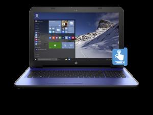 "HP 15z Noble Blue AMD Quad-Core A8-7410 Processor AMD Radeon R5 Graphics 8GB DDR3L 1TB Hard Drive SuperMulti DVD burner Windows 10 Home 64 15.6"" diagonal HD WLED-Backit Display Touchsreen"