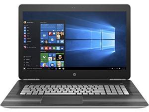 HP Pavilion 17t Touch 17.3'' Premium Gaming Laptop V3A33AV( i7, 17.3-Inch Full HD 1920x1080 Touch, 16GB, 2TB HDD + 128GB SSD, Win10) with SmartFriend Support (1-Month)