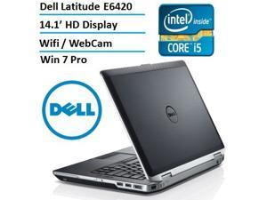 Dell Latitude E6420 Premium-Built 14.1-Inch Business Laptop (Intel Core i5 2.5GHz with 3.2G Turbo Frequency, 16GB RAM, 240GB SSD, Windows 7 Professional 64-bit)