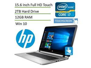 HP ENVY High Performance 17-s041nr Touch Laptop PC ( i7-6500U, 12GB, NVIDIA GeForce 940MX, 2TB, 17.3 Inch FHD (1920X1080) Touch, Backlit Keyboard, Bluetooth, Windows 10)