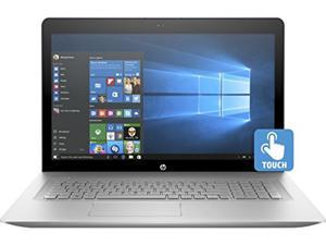 """HP ENVY 17t (Win 10 PRO, 6th Gen. Intel i7-6500U, 16GB RAM, IPS UHD 4K 3840x2160, 512GB Solid State Drive, Backlit Keyboard, AC Bluetooth, MS Office 2016) 17.3"""" Laptop PC SSD - All Silver"""