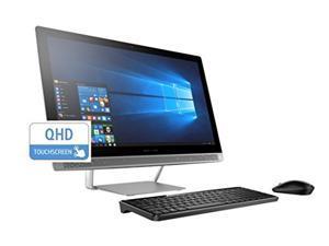 "HP Pavilion 27"" QHD Premium Touchscreen All-in-One AIO Desktop (Intel i7 Quad Core , 512GB SSD, 32GB RAM, NVIDIA GeForce 930M Graphics, 27 inch QHD touch 2560x1440, Win 10)"