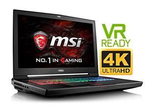 """MSI GT73VR Titan Pro 4K (VR Ready) Premium 17.3'' Gaming Laptop PC ( Intel i7 Quad Core, 32GB RAM, 1TB HDD + 512GB Sata SSD, 17.3"""" G-Sync UHD 3840 x 2160 4K Display, NVIDIA GeForce GTX 1080, Win 10)"""